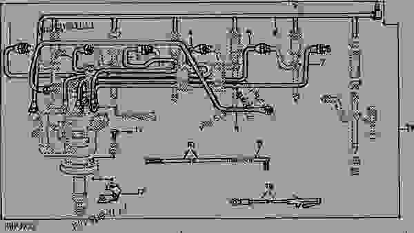 FUEL INJECTION LINES AND MISCELLANEOUS ITEMS KIT [01F03