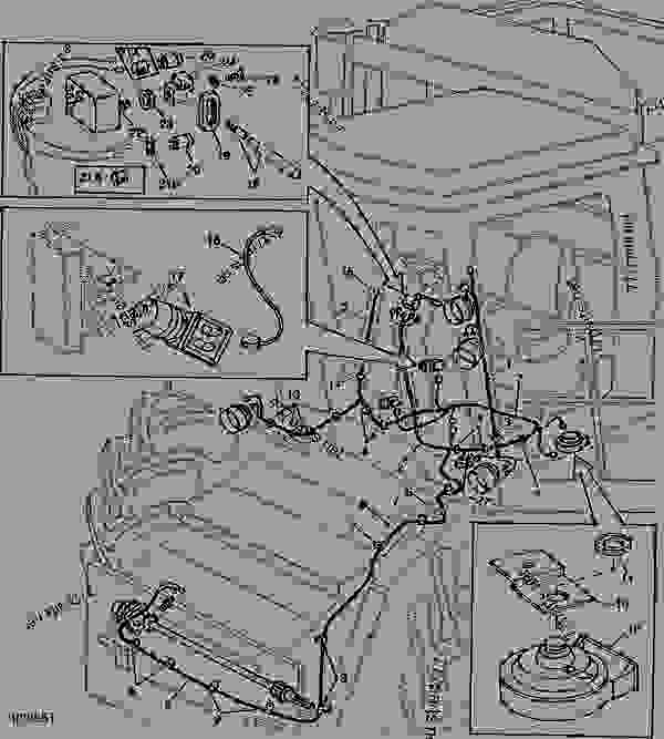 OPERATOR'S PLATFORM, L.H. LIGHTS, AND FEEDER HOUSE SPEED