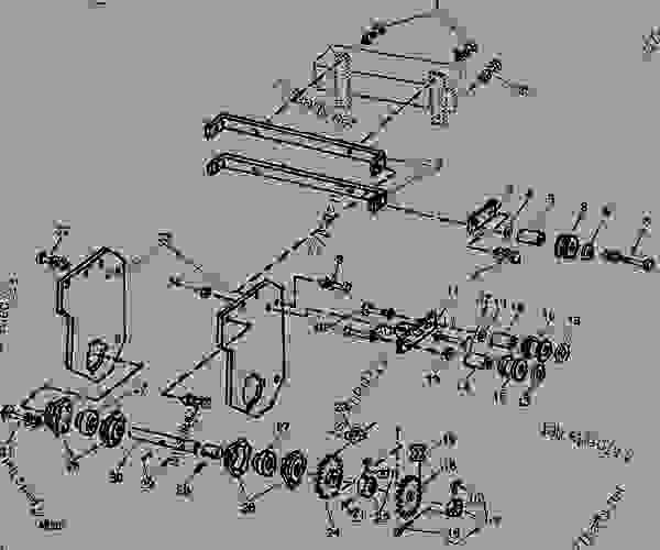 LIQUID FERTILIZER METERING PUMP BRACKETS AND DRIVE (8-ROW