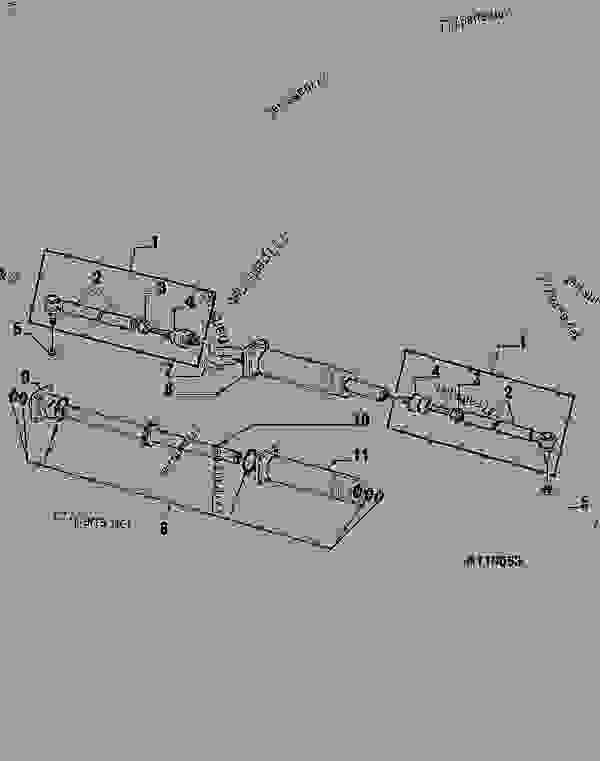 John Deere 1070 Parts Diagram John Deere 1050 Parts