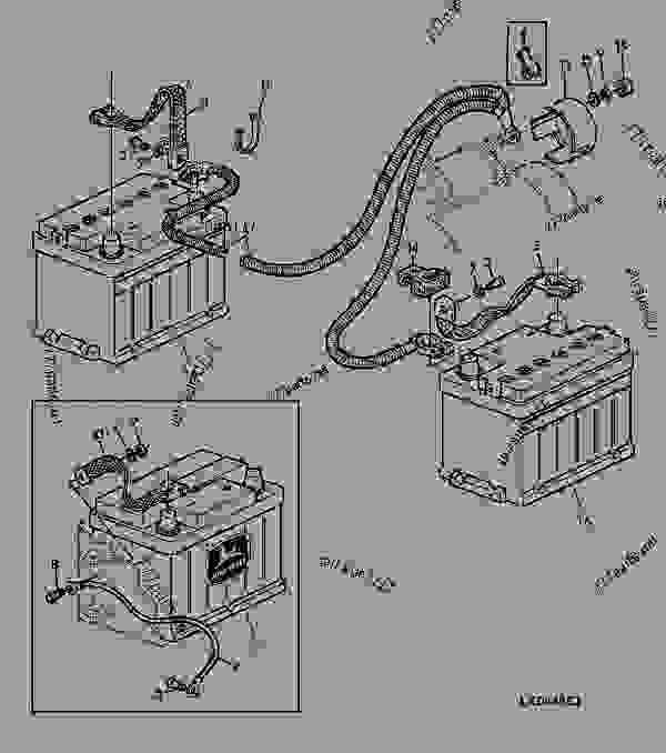 john deere 2750 alternator wiring diagram allison transmission battery sgb 8 tractor list of spare parts