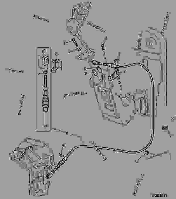 SHIFTING PARTS, MECH. REVERSER CONTROL AT STEERING COLUMN