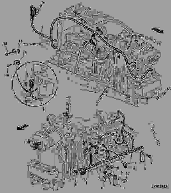 Engine Wiring Harness With Delphi Fuel Injection Pump