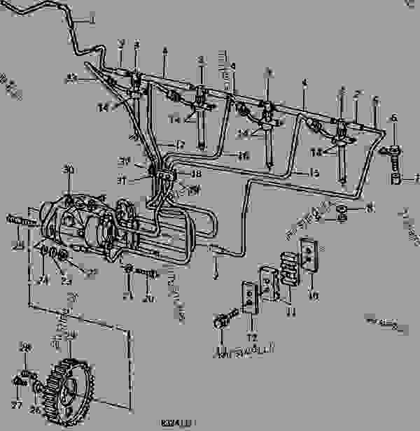 ROOSA-MASTER FUEL INJECTION SYSTEM (DIESEL) (ENGINE SERIAL