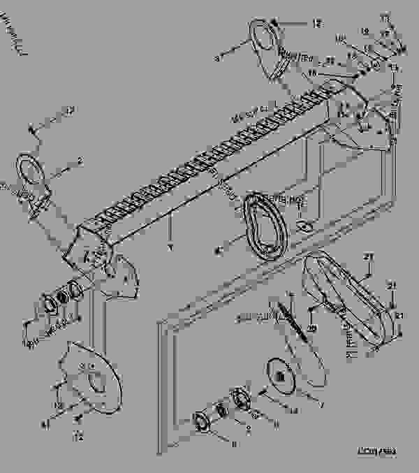 STRIPPER FRAME FOR 2,00 METER PICK UP WITH ROTARY FEEDER