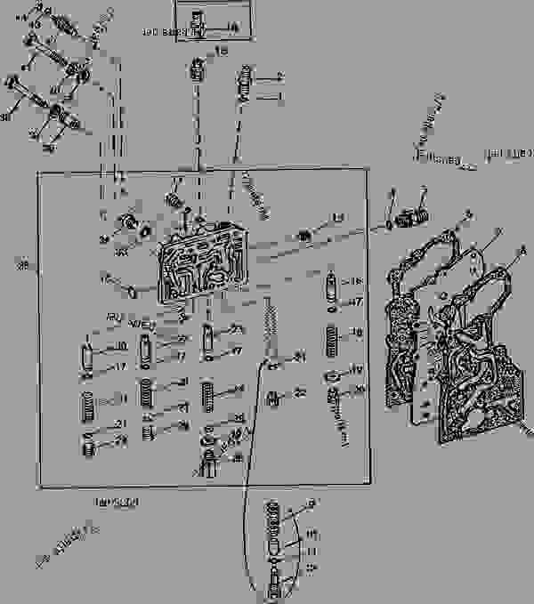 TRANSMISSION CLUTCH REGULATING VALVE (POWER SHIFT) [03K05