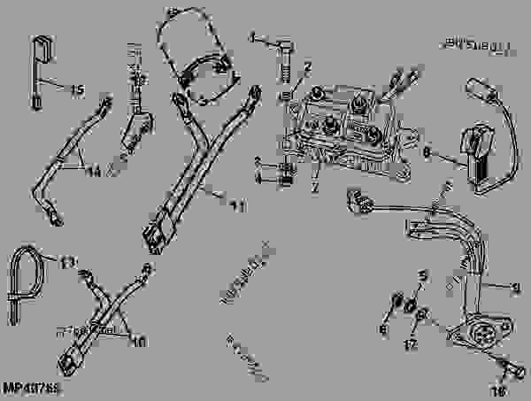 John Deere Light Kit Wire Harness : 33 Wiring Diagram