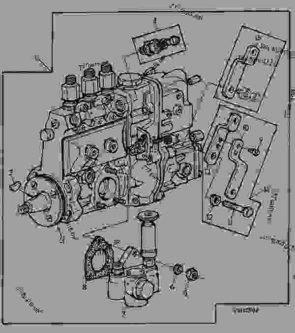 John Deere 8640 wiring Diagram