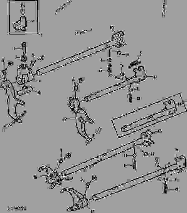 GEAR SHIFTING PARTS (SYNCHRONIZED TRANSMISSION) [66