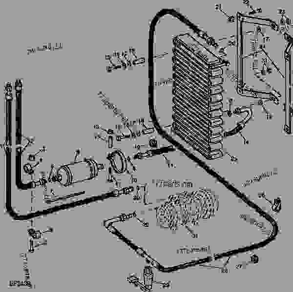 CONDENSER, RECEIVER-DRYER AND AIR CONDITIONER LINES [02D20