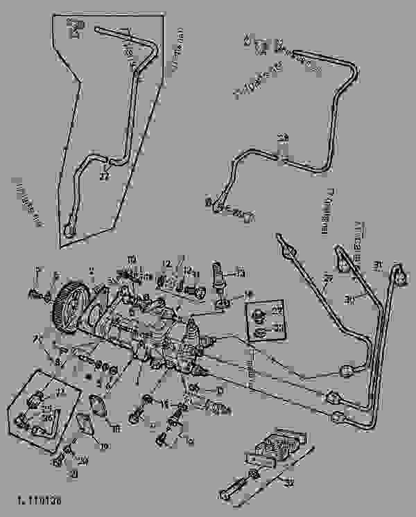 john deere 212 wiring diagram radio for 2000 chevy silverado 1120 free you fuel injection pump roto diesel 01c17 tractor rh 777parts net ignition electrical schematics