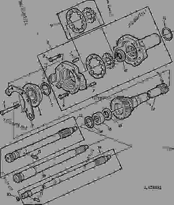 John Deere Hydraulic Pump Diagram Hydraulic Drive System