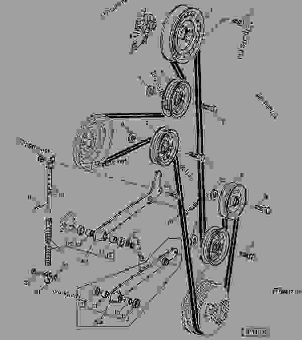 CLEAN GRAIN ELEVATOR DRIVE TIGHTENER AND IDLER [07G05