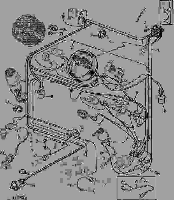 Wiring Diagram For John Deere 2240 Wiring Diagram For John