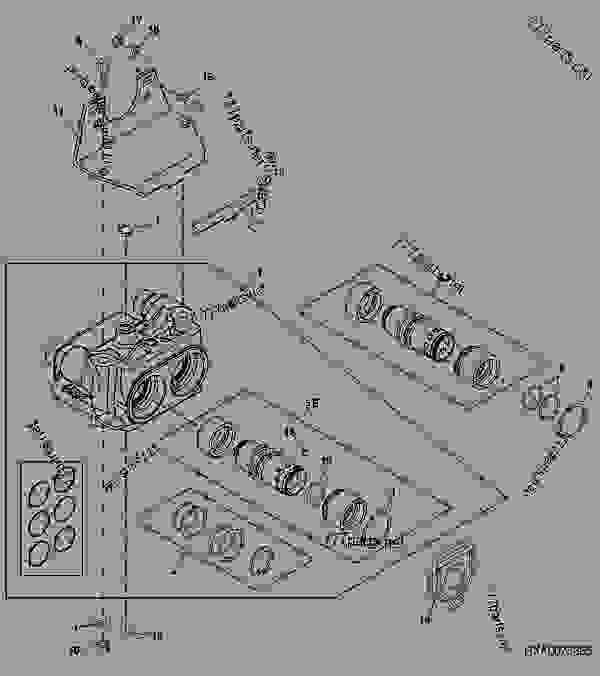 7410 John Deere Exhaust Parts. 7410. Tractor Engine And
