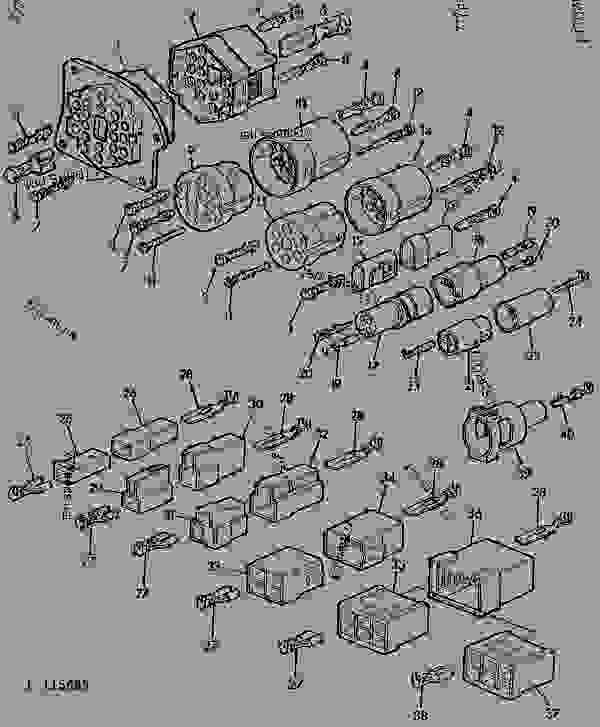John Deere 2040 Wiring Harness John Deere 2040 Ignition