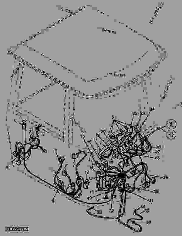 Wiring Harness (CAB) (MST) (12-Speed Syncro/24-Speed