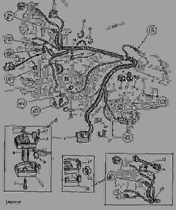 john deere tx 4x2 gator parts diagram