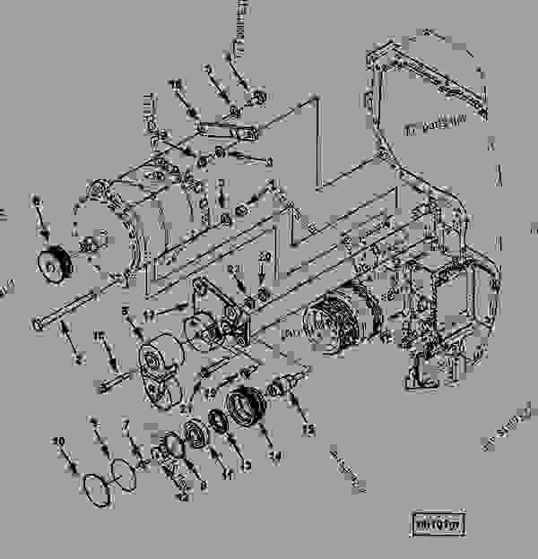 john deere la115 engine diagram