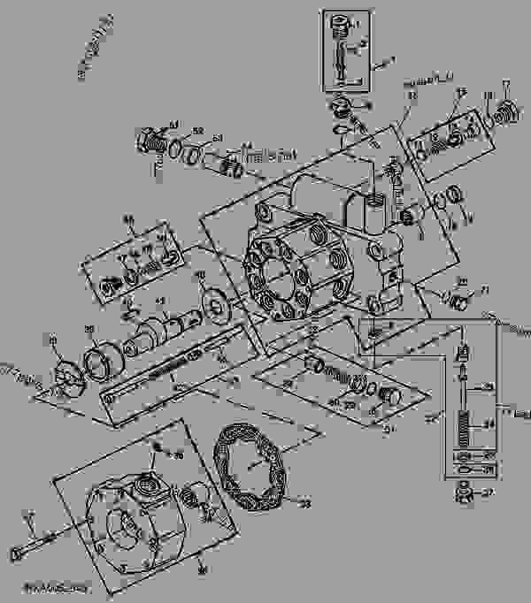 John Deere Hydraulic Pump Diagram