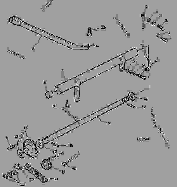 BALE EJECTOR ADAPTING PARTS (FOR BALE EJECTOR NO.2) [G20