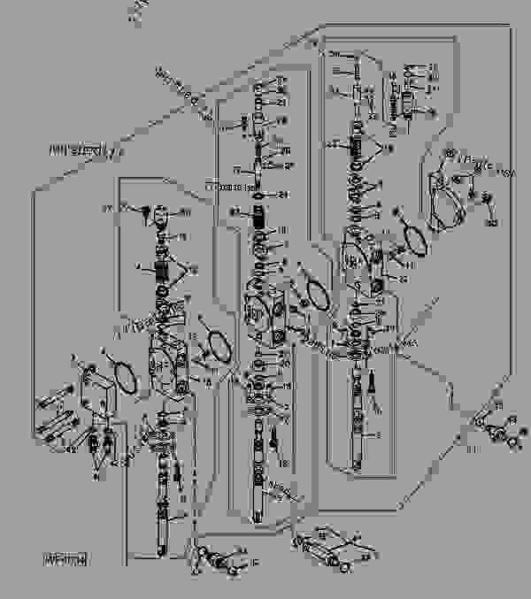 John Deere 544 Loader Parts Diagram, John, Free Engine