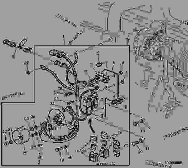 John Deere 6410 Wiring Diagram John Deere Electrical
