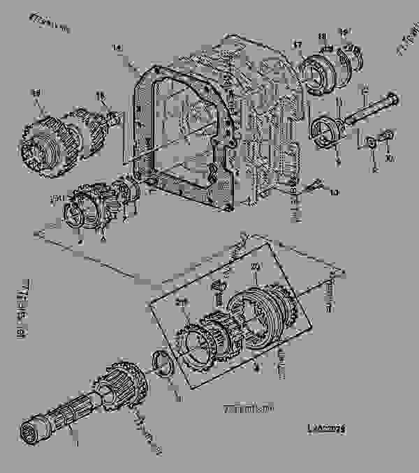 DRIVE SHAFT, OPTION TRANSMISSION (POWRQUAD /40KMH