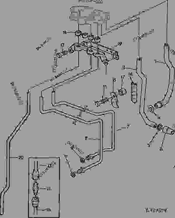 OIL MANIFOLD / OIL LINES (WITH INDEPENDENT PTO) [36