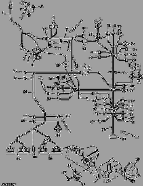 John Deere 4010 Wiring Harness : 30 Wiring Diagram Images