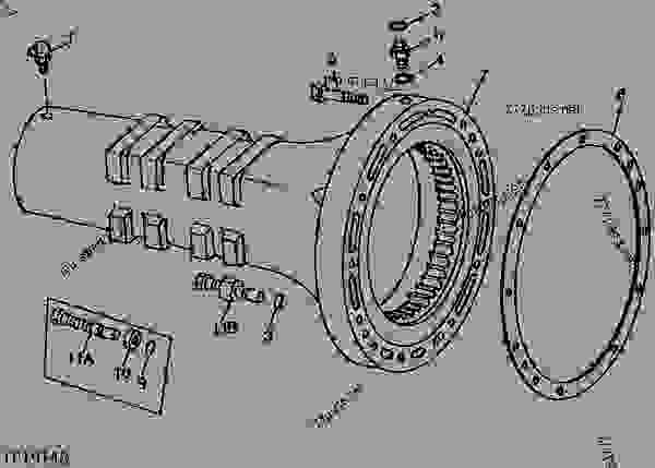 John Deere 300b Wiring Diagram John Deere 300B