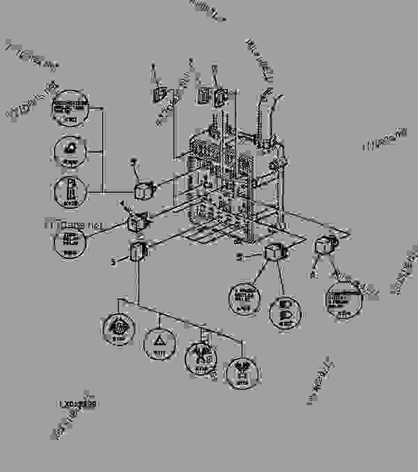 john deere 6400 fuse panel diagram