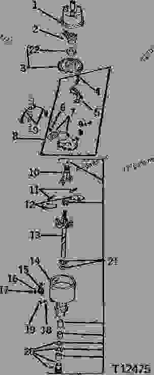 John Deere 1010 Wiring Electrical John Deere 116