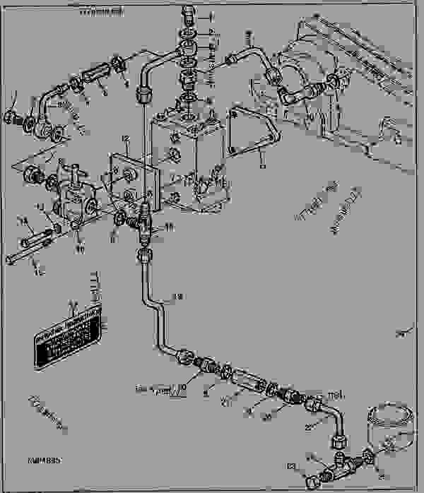 DUAL RETURN OIL CONVERSION KIT (SINGLE SELECTIVE CONTROL