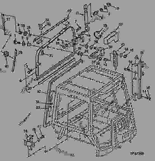 UPPER REAR CAB WINDOW AND REAR WINDOW WIPER MOTOR