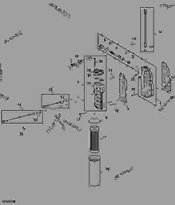 Transmission Oil Filter / System Pressure Control Block