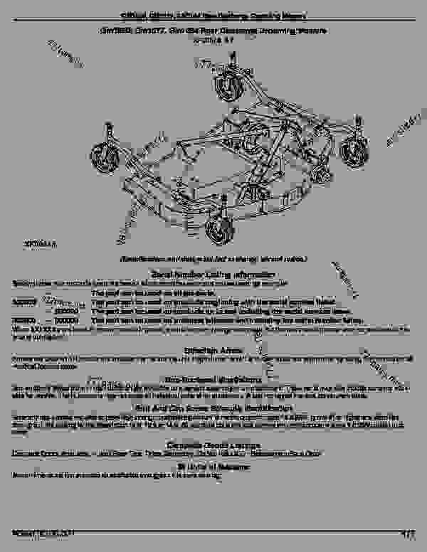 Wiring Diagram For John Deere Stx46. Wiring. Wiring Diaram