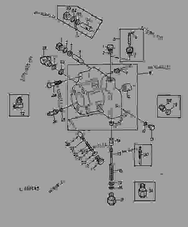 John Deere 1020 Hydraulic Schematic Parts. John. Tractor
