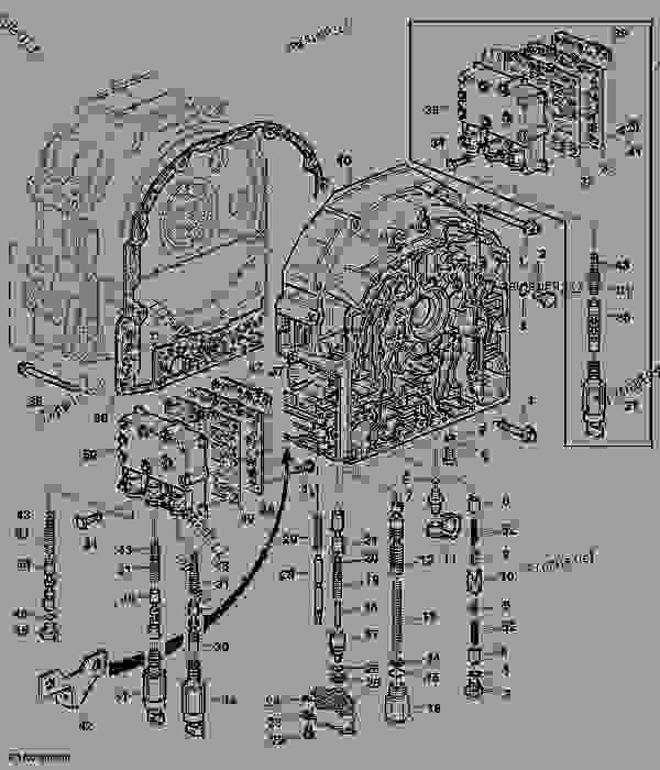 Transmission Front Cover (With Electronic Reverser Control