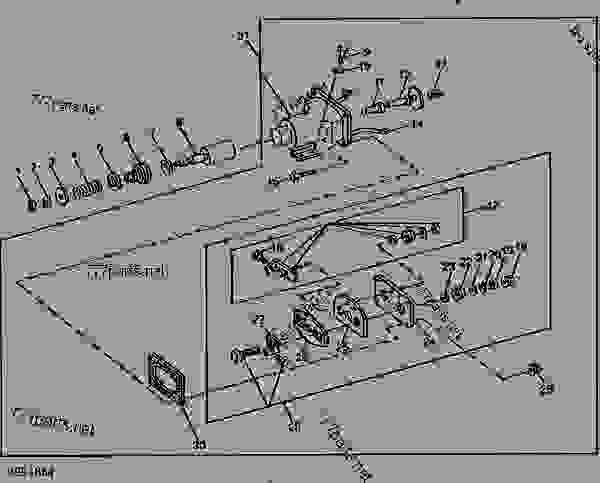 STARTER SOLENOID SWITCH (DELCO-REMY NO. 1115559) (24-VOLT