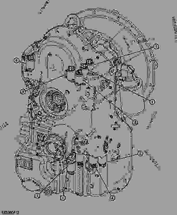 Transmission Shift Control Solenoids (POWRSHIFT) (888001