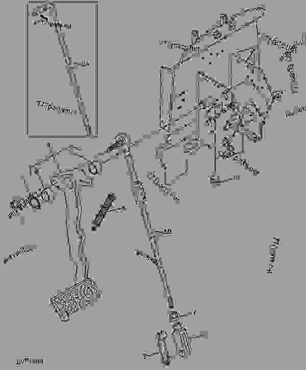 John Deere Pedal Tractor Parts : deere, pedal, tractor, parts, CLUTCH, PEDAL, LINKAGE, (WITHOUT, TRACTOR, Deere, 5210,, 5310,, Tractors, COLLARSHIFT, TRANSMISSION, (C/S), 777parts