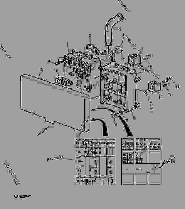 john deere electrical diagrams for 444e