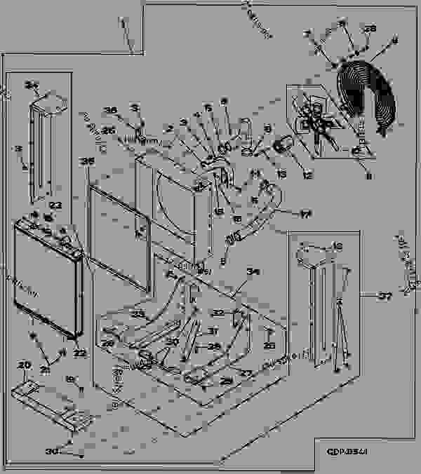 KIT- COOLING PACKAGE, RADIATOR, BLOWER FAN (STANDARD DUTY