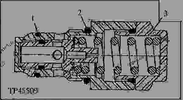 Hydraulic Pump Relief Valve (Commercial Intertech) (802200