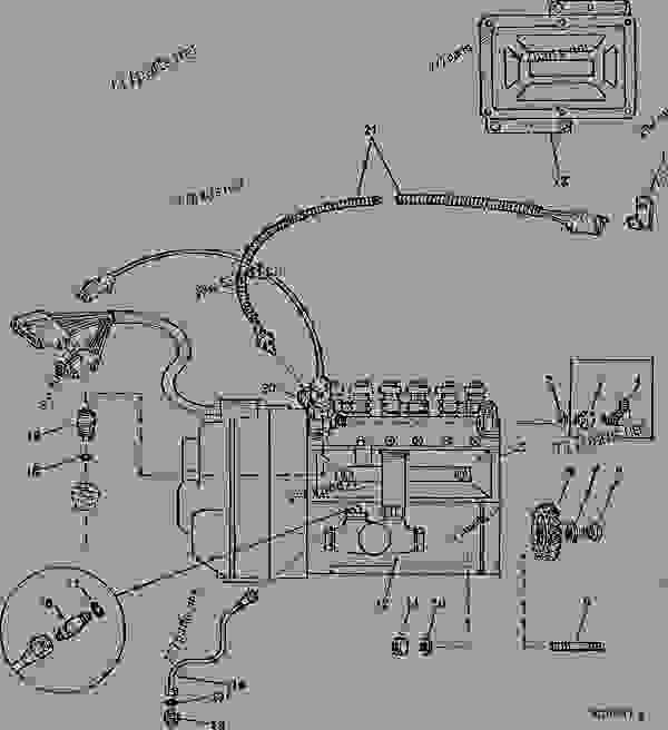 Wiring Diagram John Deere 9400 Combine John Deere 4100