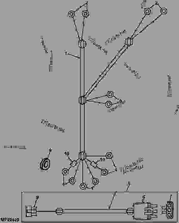 WIRING HARNESS (POWER, SPEED SENSOR) (EXPORT) [B12