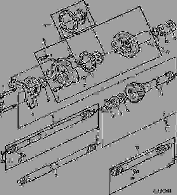TRANSMISSION OIL PUMP/DRIVE SHAFT (WITH CONTINUOUS RUNNING
