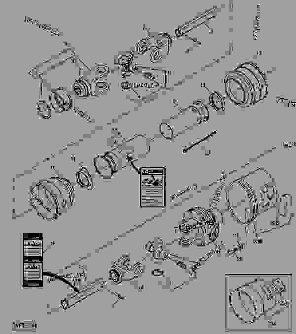 DRIVELINE WITH CLUTCH (WALTERSCHEID)(613, 017001- ) [B03