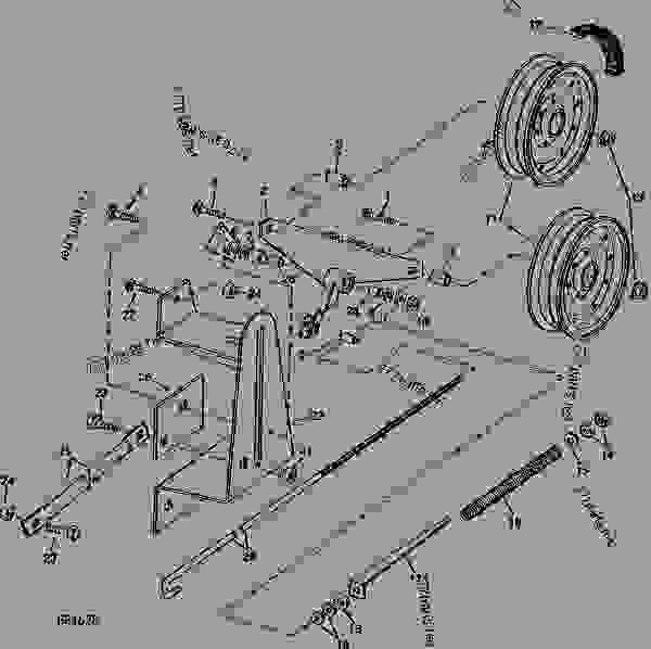 9600 John Deere Wiring Diagram John Deere 317 Wiring